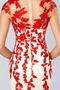 Juwel Spitze Reißverschluss Mantel Natürliche Taille Abendkleid - Seite 5