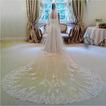 3M lange Spitze Braut Schleier 1,5m breiten Schleier Kirche Hochzeitsschleier