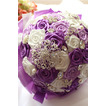 Die Braut Band rosa Perle Farbe Band Band mit Blumen