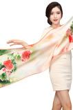 Landschaft Alle Erwachsenen Sprühen Sie die Blume Blumen Schal