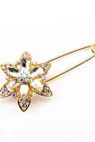 Corsage Mode Crystal Alloy Frauen Intarsien Diamant Brosche