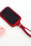 Gemütliche Gesundheitsversorgung rot Kunststoff Portable Massage Mundspiegel & Kamm