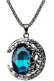 Halskette Frauen neues Produkt Crystal Alloy Schmuck Retro Halskette & Anhänger