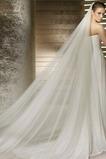 Formell Größe angepasst werden kann Herbst Elfenbein Hochzeitsschleier