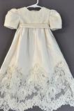 Hoch bedeckt Sommer Zierlich Appliques Juwel Blumenmädchen kleid