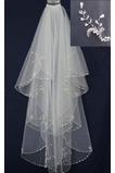 Weiß Göttin Brautkleider Größe angepasst werden kann Hochzeitsschleier