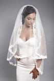 Größe angepasst werden kann Spitze Mit Kamm Schick Hochzeitsschleier