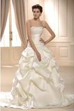 Frühling Ärmellos Spitzenüberlagerung Lange Natürliche Taille Hochzeitskleid