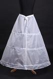 Einfach Polyester Taft Drei Felgen Standard Breite Hochzeit Petticoat