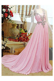 Gerafft A Linie Frenal Trichter Natürliche Taille Lange Abendkleid