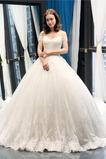 Kirche Ärmellos Frühling Formalen Mit geschlossenen Ärmeln Brautkleid