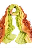 Sprühen Sie die Blume Farbverlauf Streifen Verlängern Ebene Schal