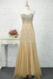 Schatz Juwel akzentuiertes Mieder Sternenklar Luxuriöse Abendkleid