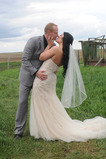 Mit Kamm Frühling Kurze Rot Größe angepasst werden kann Hochzeitsschleier