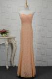 Schatz Elegante Reißverschluss Natürliche Taille Meerjungfrau Abendkleid