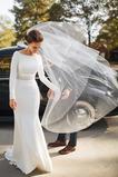 Fegen zug Trichter Perlengürtel T Hemd Tau Schulter Brautkleid
