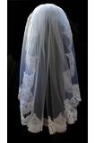 Elfenbein Kurze Mit Kamm Größe angepasst werden kann Hochzeitsschleier