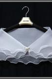 Ärmellos Outdoor Kurze Sommer Dreieck Weiß Hochzeit Schal