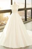 Kapelle Zug Formalen Ärmellos Halle A Linie Natürliche Taille Hochzeitskleid