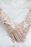 Spitze Spitze Frühling Kurze Schick Volle finger Hochzeit Handschuhe