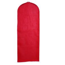 Hochzeit Kleid Staubschutz rot solide staubdicht Abdeckung Staubschutz Bestellung Moviemaker Staubschutz