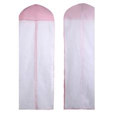 Pulver und Vlies 155 cm single sided transparenten Kleid Abdeckung in Wort