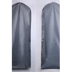 Staubschutz 155 cm groß Silber transparent Hochzeit Kleid Staub Beutel Staub Set Kleid