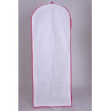 Weißen Vlies-große Staubschutz Kleid Hochzeit Kleider Tasche mit langen staubdichten Abdeckung