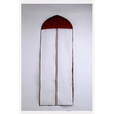 155 cm lange einzelne einseitig transparent lila Rand Verdickung Brautkleid Staub Staubbeutel
