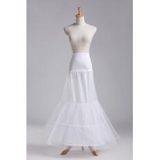 Korsett Glamourös Perimeter Meerjungfrau Doppelgarn Hochzeit Petticoat