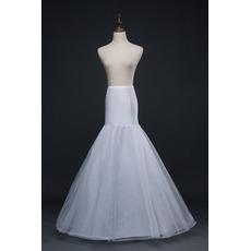 Elfenbein Korsett Elasthan Neuer Stil Meerjungfrau Hochzeit Petticoat