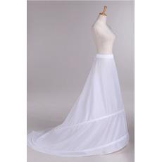 Taille Nachgestellte Polyester Taft Elastische Taille Hochzeit Petticoat