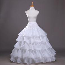 Breite Modisch Zwei bündel Polyester Taft Flouncing Hochzeit Petticoat