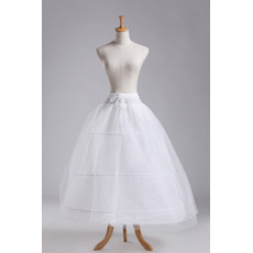 Jahrgang Standard Drei Felgen Zwei bündel Perimeter Hochzeit Petticoat