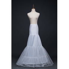 Hochzeitskleid Meerjungfrau Korsett Perimeter Glamourös Elasthan Hochzeit Petticoat