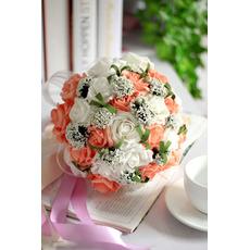 Rose auf der ganzen Himmel Sterne Kombination dekorative Blume