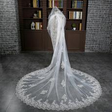 Verlängerter und verbreiterter Schleier 3 Meter langer Schwanzschleier Braut Hochzeit Zubehör Großhandel