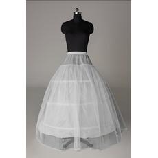 Perimeter Drei Felgen Spitzenbesatz Elastische Taille Hochzeit Petticoat