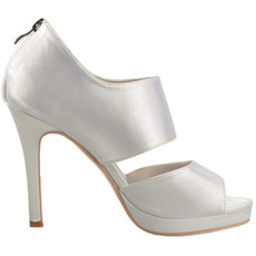Sexy Satin Open Toe High Heel Fashion Party Schuhe