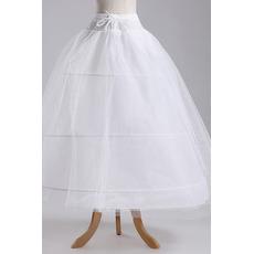 Einstellbar Standard Elegante Polyester Taft Drei Felgen Hochzeit Petticoat