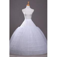 Hochzeitskleid Breite Erweitern Elegante Sechs Felgen Hochzeit Petticoat