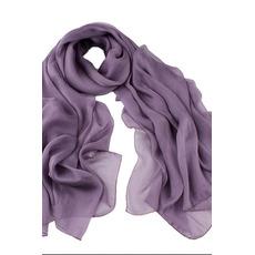 Reine Farbe Sprühen Sie die Blume Ebene Echte Seide Schal