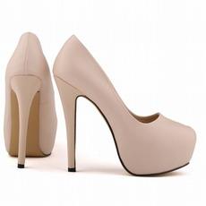 14cm High Heel Fashion Style Wasserdichte Hochzeitsschuhe