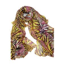 Lila multifunktionale Herbst Echte Seide Junge Frauen Schal