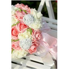 Simulation 30 Garn Gerät mit der Braut Strauß Rosen aller Himmel Sterne