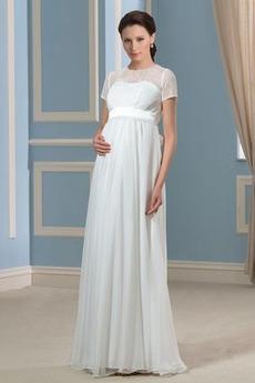 Reißverschluss T Hemd Draussen Juwel Fegen zug Spitze Brautkleid