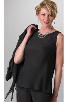 T Hemd Knöchellänge Bateau Veranstaltungsräume Mutter kleid mit Ärmeln