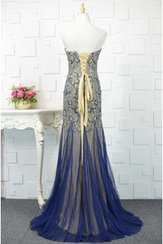 Drapiert Ärmellos Juwel akzentuiertes Mieder Luxuriöse Abendkleid