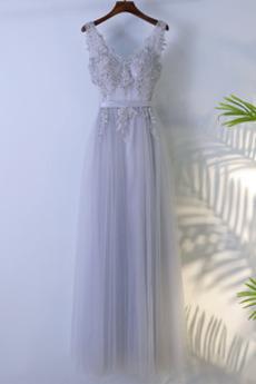 Reißverschluss Sanduhr Sommer Natürliche Taille Brautjungfernkleid