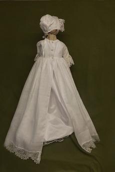 Kappe Juwel Prinzessin Natürliche Taille Blumenmädchen kleid